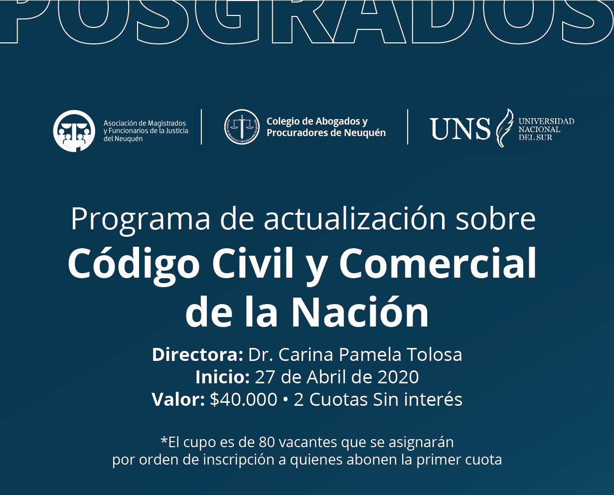 actualizacion codigo civil