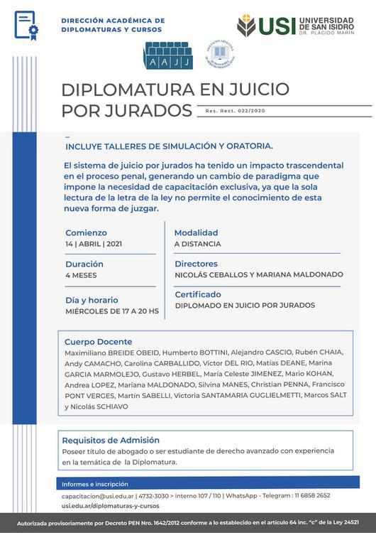 diplomatura juicio por jurados b 0604